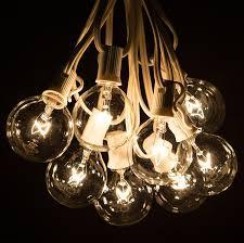 outdoor large outdoor string lights light bulb strands stringing