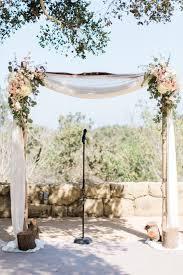 Flower Accented Wedding Arch Deerpearlflowers