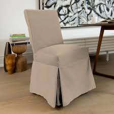 Muskoka - Full Length Dining Chair Cover - Taupe Ding Chair Slipcover Sewing Pattern Chairs Home Room Sets Sure Fit Soft Suede Shorty Taupe Velvet Cover Jf Covers Homiest 1 Pc Spandex Stretch Linen Store Basket Weave Texture Form Portland Full Length 4 Pack Shop Luxury Collection Metro Free Shipping On Decor Best For Parson Create Awesome Pearson Pin By Neby On Modern Interior Ideas Room Chair Long Chateau Toile Cottonpolyester Amazoncom Classic Slipcovers Cabana Stripe Short