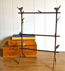 Brooke Stand Jewelry Display Rack 3 Layer Wrought Iron With Birds Good For