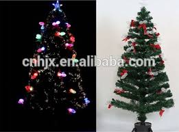 180cmLighted Pine Cone Fiber Optic Christmas Tree Bowknot Lighting Colour