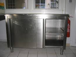 meuble cuisine inox meuble cuisine inox pas cher cuisine en image