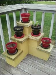 Patio Plant Stands Wheels by 48 Best Concrete Block And Cinder Block Diy Furniture Ideas Images