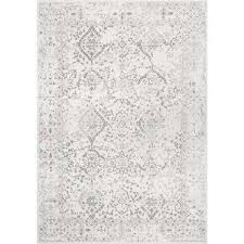 Border 7 X 9 Area Rugs Rugs The Home Depot