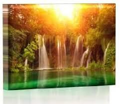 led bild bilder fertig gerahmt kunstdruck auf wandbild leuchtendes led bild led wandbild model 22 75x50 cm