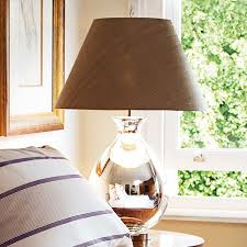 Glass Table Lamps For Bedroom by Glass Bedside Table Lamps Australia Hankodirect Decoration