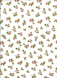 100 Flannel Flower Glass 63898 45 Henry And Co Hello Snow Holly Leaves