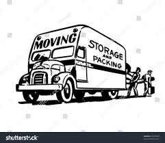 Moving Storage Packing Retro Clipart Illustration Stock Photo (Photo ... 4 Moving Truck Loading Tips Youtube The Best Way To Pack A On Packing For Long Distance Relocation What If My Fniture Doesnt Fit In New Home Matt And Kristin Go Swabian Our Stuff Is Germany Professional Packers Paul Hauls And Storage A Mattress Infographic Insider Orange County Local Movers Affordable Short Notice How Properly Pack Load Moving Truck Ccinnati 22 Life Lessons From Company