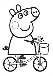 Peppa Pig Colouring Pages Not That This Really Counts As Craft But They Were Popular With The 3 Year Old