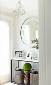 design hallway entryway marble side table summer d礬cor