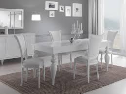 salle a manger complet salle a manger complete blanc laque collection et salle manger