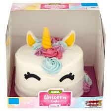 Asdas Unicorn Cake GBP10 Image Asda