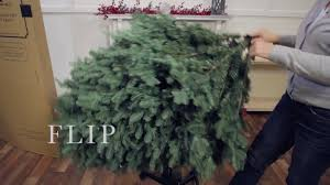 Balsam Hill Artificial Christmas Trees Uk by Balsam Hill Flip Tree Youtube