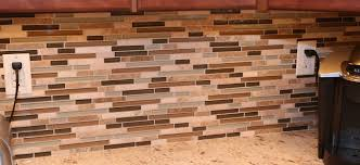 cool glass and mosaic tile backsplash 37 on interior