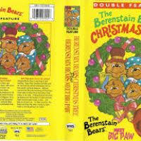 The Berenstain Bears Christmas Tree Dvd by The Berenstain Bears The Bears Christmas Vhs Christmas Decore