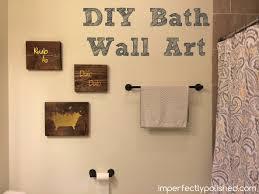 Bath Wall Art Extraordinary Rustic Bathroom Decor