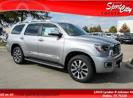 New 2018 Toyota Sequoia Limited Dallas TX