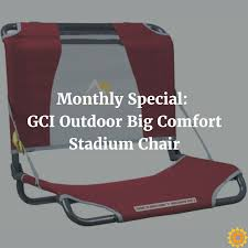 Custom Stadium Chairs For Bleachers by Monthly Special Gci Outdoor Big Comfort Stadium Chair