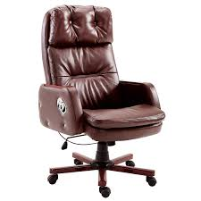Luxury PU Leather Executive Swivel Computer Chair Office Desk Chair With  Latch Recline Mechanism, Brown Luxury Pu Leather Executive Swivel Computer Chair Office Desk With Latch Recline Mechanism Brown Eliza Tinsley Black Belleze Highback Ergonomic Padded Arms Mocha Barton Economy Hydraulic Lift Senarai Harga Style Lifted Household Multi Heavy Duty Task Big And Tall Details About Rolling High Back Essentials Officecomputer Belleze Tilt Lumber Support Faux For Look Costway