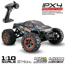 Hosim RC Monster Truck Car 1:10 Scale 4WD 2.4Ghz Off-road Remote ...