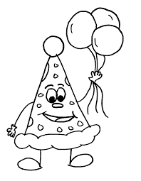 Printable Coloring Pages Balloon