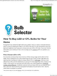 led light bulb brightness scale color charts bulb guide