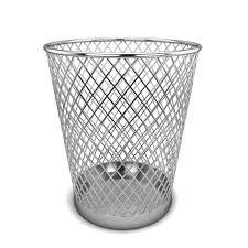 poubelle bureau poubelle de bureau illustration stock illustration du clear