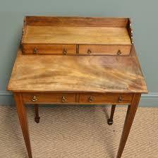 Antique Writing Desks Australia elegant golden mahogany victorian antique side ladies writing