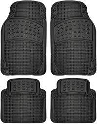 Amazon.com: OxGord Universal Fit Front/Rear 4-Piece Full Set Ridged ...