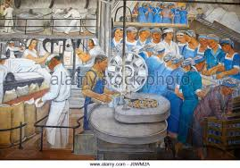 coit tower mural stock photos coit tower mural stock images alamy