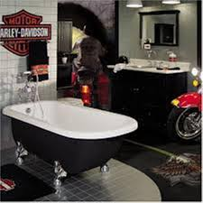 Harley Davidson Home Decor Bathroom Regarding