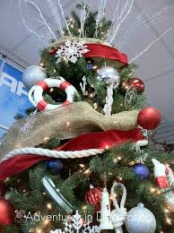 I Loved Adding The Nautical Rope Truly Something One Wouldnt Expect To See On A Christmas Tree