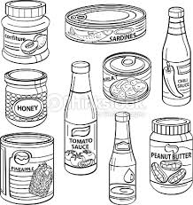 Sardines clipart canned goods 8