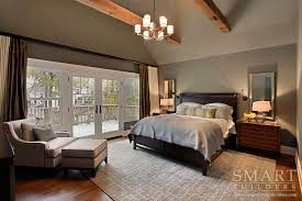 Bedroom Master Photo by Contemporary Craftsman Style Custom Home Master Bedroom Suite