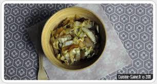 cuisiner le chou chinois cuit recette bio rapide chou chinois cuisine saine sans gluten