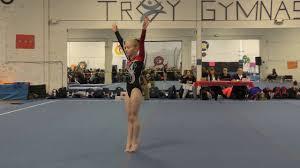lauren wehner 2016 gymnastics level 3 floor routine chion youtube