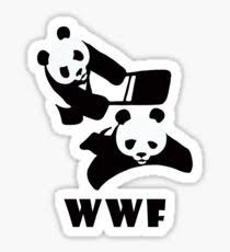wwf panda chair stickers redbubble