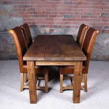 Breathtaking Solid Wood Dining Room Sets Elegant Chunky Table Lovely Barn