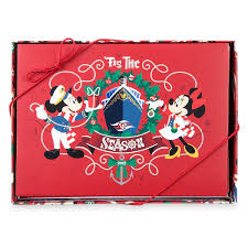 Mickey And Minnie Bathroom Sets by Mickey And Minnie Mouse 2017 Holiday Card Set Disney Cruise Line