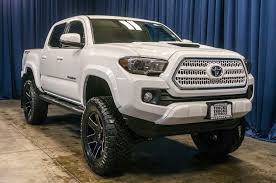 Used Lifted 2017 Toyota Tacoma TRD Sport 4x4 Truck For Sale - 40366 Used Lifted 2017 Toyota Tacoma Trd 4x4 Truck For Sale 36966 Tacoma Lift Google Search Pinterest Pin By Mr Mogul On Trucks Marketing Media Why Buy A Muller Clinton Nj Single Cab Images Pinteres Pro Debuts At 2016 Chicago Auto Show Live Photos Tundra Stealth Xl Edition Rocky Ridge Toyota Ta 44 For Of 2018 Custom In Cement Grey Consider The Utility Package A Solid Work