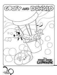 Mickey Mouse Clubhouse Coloring Pages Free 13 Kids