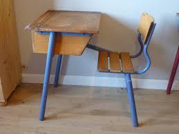 bureau ecolier vendu bureau écolier vintage école bois pupitre ancien fashion maman