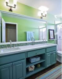 Houzz Bathroom Vanity Units by Be Inspired To Paint Your Bathroom Vanity A Non Neutral Color