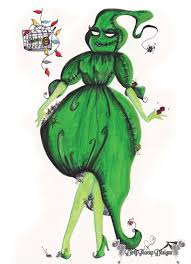 Oogie Boogie Halloween Stencil by Mrs Oogie Boogie Fashion Nightmares Before Christmas By