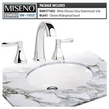 faucet com mno1714ou mno641 cp in white polished chrome by