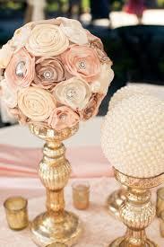 DIY Vintage Wedding Reception And Table Decor