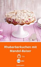 rhabarberkuchen mit mandel baiser