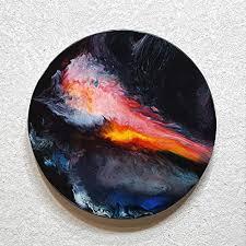 original gemälde malerei abstrakt moderne resin kunst harz