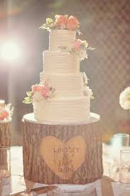Outside Country Vintage Wedding Cakes