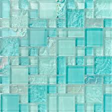 Tiles and Deco BAHAMA INAGUA FRENCH PATTERN GLASS TILE POOL TILE